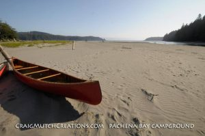 Paddling at Pachena Bay, BC