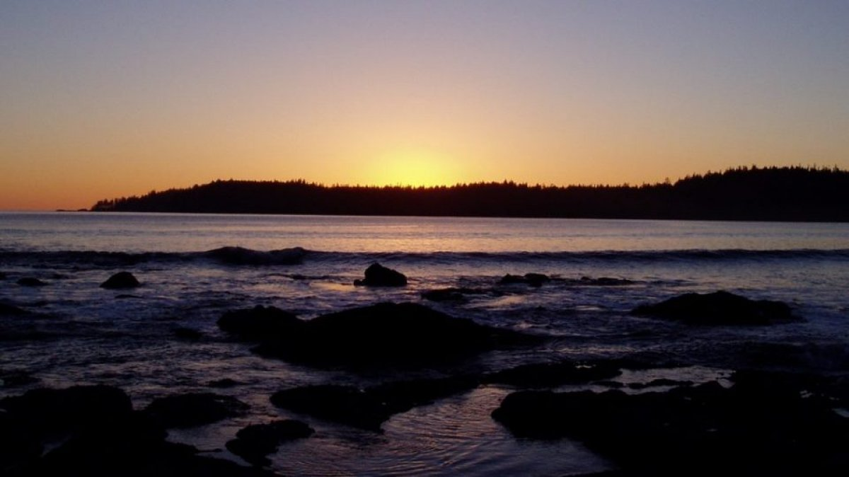 Pachena Bay sunset