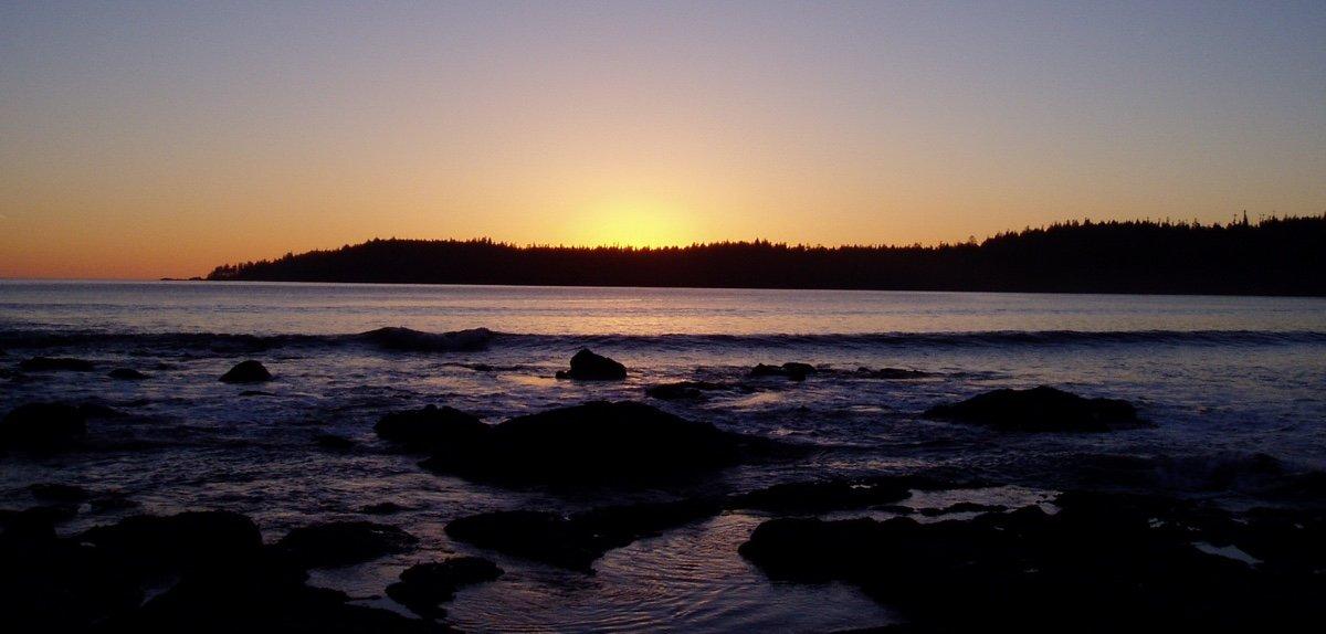 Pachena Bay sunset